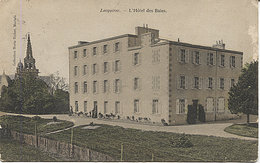 X122928 BRETAGNE FINISTERE LOCQUIREC L' HOTEL DES BAINS. - Locquirec