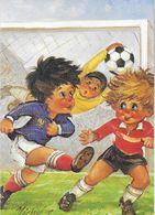 MICHEL THOMAS ILLUSTRATEUR LES PETITS C/107 EDIT. PRAM SPORT FOOTBALL - Thomas