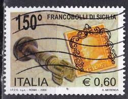 Repubblica Italiana, 2009 - 60c Francobolli Di Sicilia - Nr.3147 Usato° - 2001-10: Usados