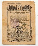 Soviet Union Capture Warsaw Thanksgiven Document Stalin - 1939-45