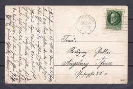 Bayern - 1914 -  Postkarte - Gest. - Bayern