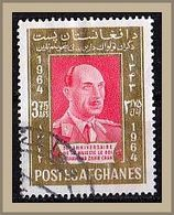 (960) Afghanistan 1964 The 50th Anniversary Of The Birth Of King Sahir Shah, 1914-2007 O Used/gestempelt (A-8-14) - Afghanistan