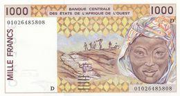 Billet L'afrique De L'ouest 1000 Francs - Centrafricaine (République)