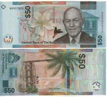 BAHAMAS New 50 Dollars. (2019) New Issue. UNC - Bahamas