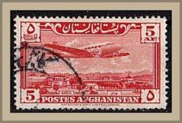 """(372) Afghanistan 1951 Airmail - Imprint: """"WATERLOW & SONS LIMITED, LONDON"""" O Used/gestempelt (A-8-14) - Afghanistan"""