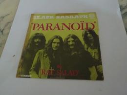 45 TOURS PARANOID BLACK SABBATH 1970 - Hard Rock & Metal