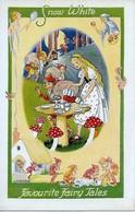 """L.R. Steele  -  Favourite Fairy Tales Series : """"Snow White""""    -   6 -43 -51 -77. - Altre Illustrazioni"""