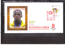 Chine/china - Jeux Olympiques De Pékin 2008 - Usain Bolt - Athlétisme - Sommer 2008: Peking