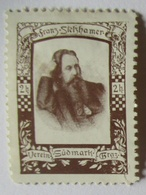 Österreich Verein Südmark, Franz Stelzhamer, Dichter (13229) - Österreich