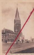 CP 62  -   COURCELLES LES LENS -    Place Jean Jaurès Et L'église - France
