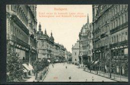 HONGRIE - BUDAPEST - Schwurgasse Und Kossuth Lajosgasse - Hongrie