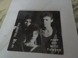 45 TOURS DOUBLE MIX POUR DES MOTS D AMOUR 1987 - Vinyles