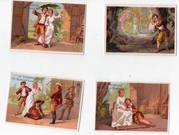 Chromo Paul Et Virginie Théâtre Bernardin De St Pierre A Vaterlot Paris Lessertisseux Pour 6 Chr (10 Chromos) - Cromo
