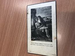 De Baerdemaeker Dominicus Echtg Dobbelaere Maria Ere Kerkmeester *1852 Evergem +1936 Vinderhoute Druk Lovendegem - Obituary Notices