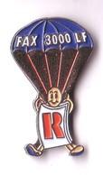 E107 Pin's Parachute Parapente FAX 3000 LF R  Achat Immédiat - Paracadutismo
