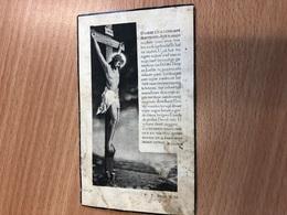 De Sagher Henri Echtg Van Haelewijn Marthe *1890 Ieper +1940 Drongen Doctor Wijsbegeerte &letteren Officier D'académie - Overlijden