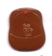 AA310 Pin's Base Ball Baseball Casquette SD  Achat Immédiat - Baseball