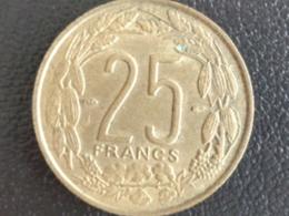 UNC CAMEROUN 1958 - 25 FRANCS - Cameroun