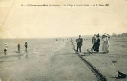 VILLERS SUR MER La Plage à Marée Basse   1915 - Villers Sur Mer