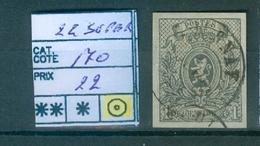 22 Super Obl Côte 170.00€ - 1866-1867 Coat Of Arms