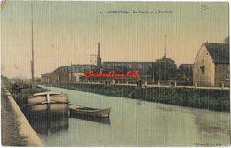 Audruicq - Le Bassin Et La Fonderie - 1917 - Audruicq
