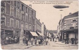 91. JUVISY-SUR-ORGE. Le Dirigeable Clément-Bayard évoluant Au-dessus De La Grande Rue. 112 - Juvisy-sur-Orge