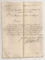 1811 / SOUS PREFET A MAIRE MIREPOIX / TESTAMENT PIERRE BONNERY CHANOINE    Ar203 - Manuscrits