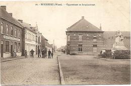 Moerbeke (Waes) - Opperstraat En Hospicestraat. - Moerbeke-Waas