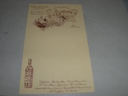 MENU' CHATEAU MONBAZILLAC - Menus