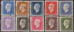 Marianne De Dulac - FRANCE - Série De Londres - N° 682-683-684-685-686-689-690-691-692-694 - 1945 - Oblitérés