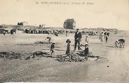 MERLIMONT SCENES DE PLAGE - France