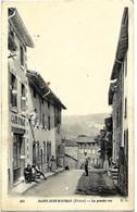 A2 Rhône 69 SAINT JUST D'AVRAY La Grande Rue 1910 Tbe - Otros Municipios