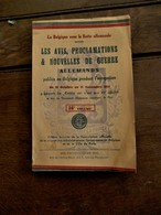 Boek  La  Belgique Sous La  Botte  Allemande    Imprimerie  1919 - Oorlog 1914-18