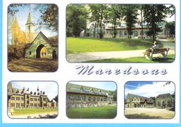 Abbaye De Maredsous-(Anhée-Namur-Belgique)-Centre D'accueil St.Joseph-Timbre Sabena COB 2753-1998-Rare - Anhée