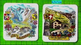 Col Du Galibier + Col Du Lautaret Autocollants Blasons Armoiries - Autocollants