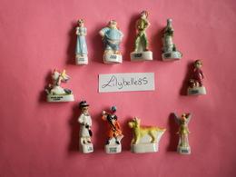 Série Complète De 10 Fèves Anciennes - PETER PAN 1998 ( Feve Figurine Miniature ) RARE - Disney