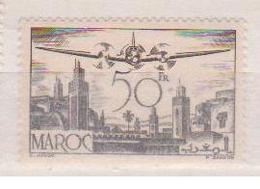 MAROC    N°  YVERT  : PA 57  NEUF AVEC  CHARNIERES      (  CH  02/17 ) - Maroc (1891-1956)