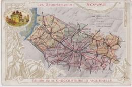 """Bx - Cpa """"Les Départements : SOMME"""" - Edition De La Chocolaterie D'Aiguebelle - Zonder Classificatie"""