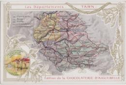 """Bx - Cpa """"Les Départements : TARN"""" - Edition De La Chocolaterie D'Aiguebelle - Zonder Classificatie"""