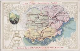 """Bx - Cpa """"Les Départements : VAR"""" - Edition De La Chocolaterie D'Aiguebelle - Sin Clasificación"""