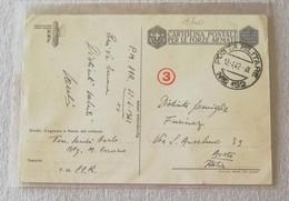 Cartolina Postale Per Le Forze Armate P.M.88R-152 (Russia) Per Aosta - 13/04/1942 (Boccasile) - 1900-44 Vittorio Emanuele III