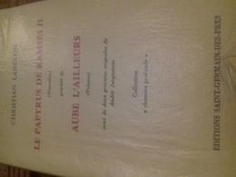 Le Papyrus De Ramses II CHRISTIAN LANGLOIS éditions Saint Germain Des Pres 1985 - Livres, BD, Revues