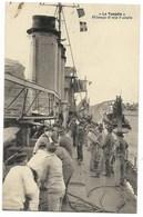 Torpilleur LA TEMPETE - Hissage D'une Vedette...  1927  Animé - Krieg