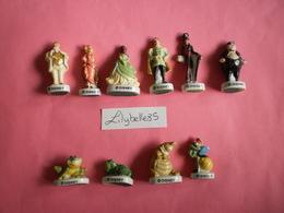 PRE Série Complète De 10 Fèves Anciennes - LA PRINCESSE ET LA GRENOUILLE 2011 ( Feve Figurine Miniature ) RARE - Disney