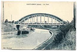 SAINT SIMON - Le Pont - PENICHE - Francia
