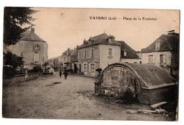 VAYRAC PLACE DE LE FONTAINE ANIMEE - Vayrac
