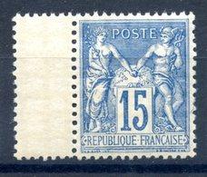 France N°101 Neuf** Bord De Feuille - (F946) - 1898-1900 Sage (Type III)