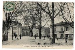 PRAYSSAC RUE DE LA REPUBLIQUE CAFE CHAUSSURES EPICERIE ANIMEE - France