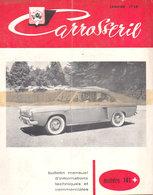"""1958 Carrosserie  No 141  """" Renault Dauphine  Prototype De La Floride ? En Couverture """" - Automobili"""