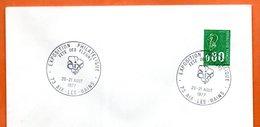 73 AIX LES BAINS   FETE DES FLEURS  1977 Lettre Entière N° GH 265 - Cachets Commémoratifs